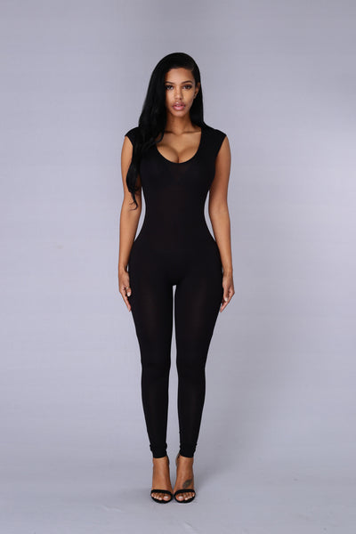 Jumpstart Jumpsuit - Black