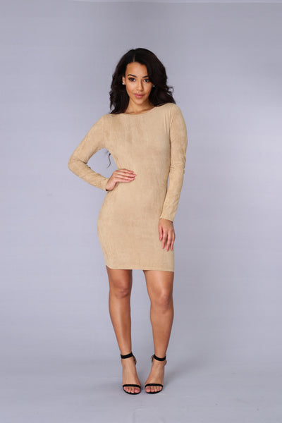 London Bridge Dress - Camel