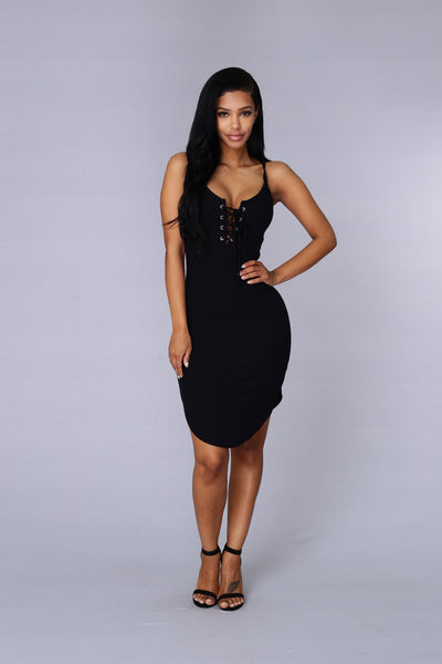 Dream On Dress - Black