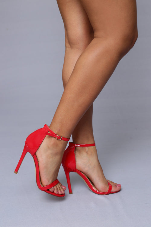 Flame Heel - Red