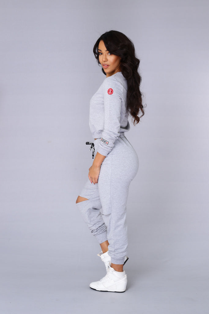 Top Rank Sweatshirt - Heather Grey