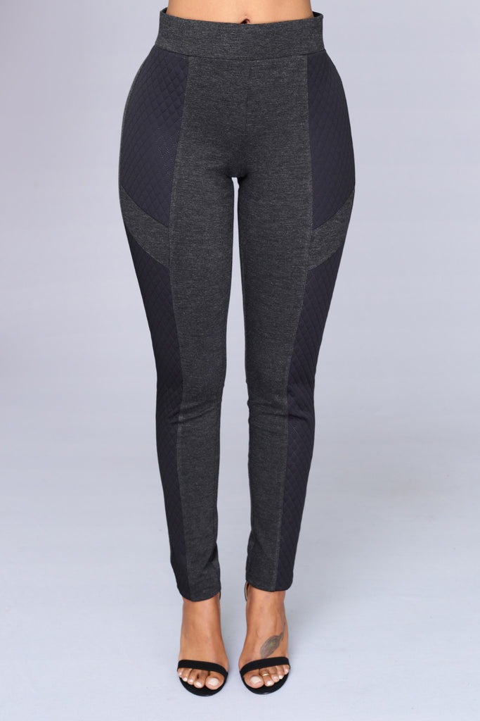 Shotgun Leggings - Charcoal