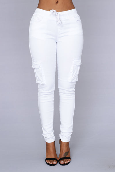 Field Trip Pants - White
