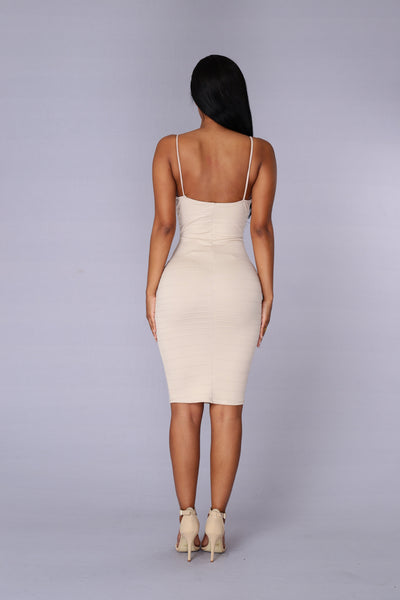 In the Mood Dress - Taupe