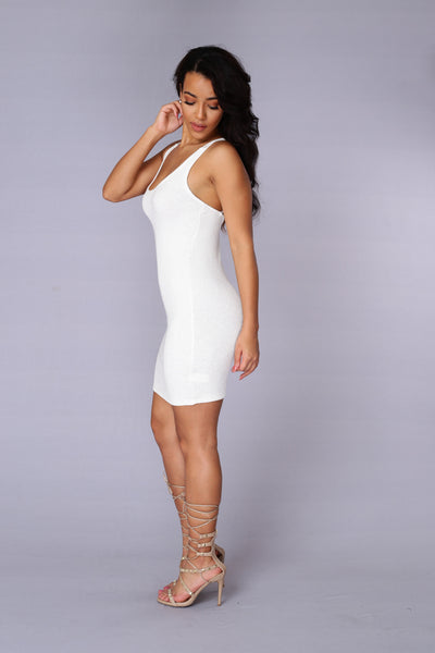 Nancy Dress - Ivory