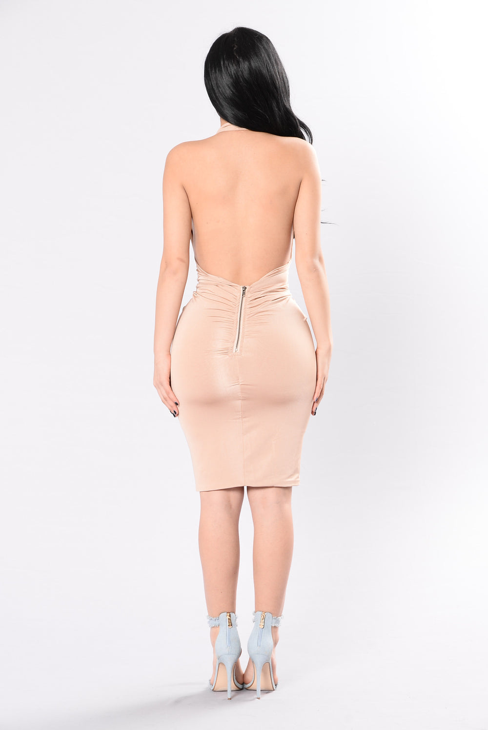 No Ifs Ands Or Buts Dress - Nude