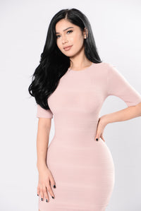 Young Folks Dress - Mauve