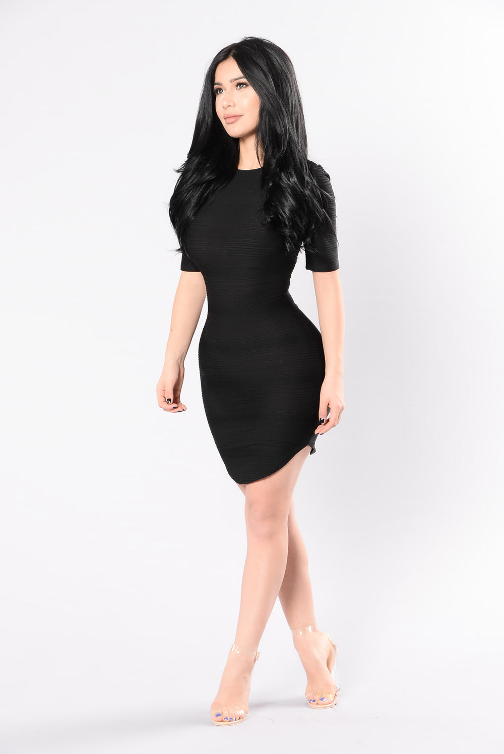 Young Folks Dress - Black