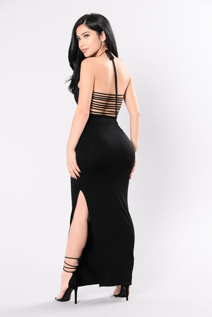 Be My Guest Dress - Black