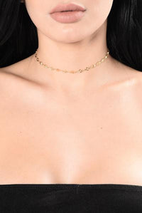 Just A Touch Of Love Choker Set  - Blush