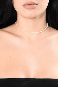 Just A Touch Of Love Choker Set - Black