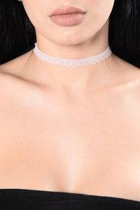 Grant Your Wish Choker Set - Pink