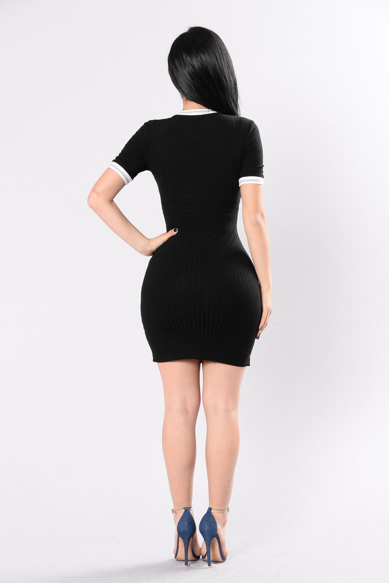 Derby 'Bout Dress - Black