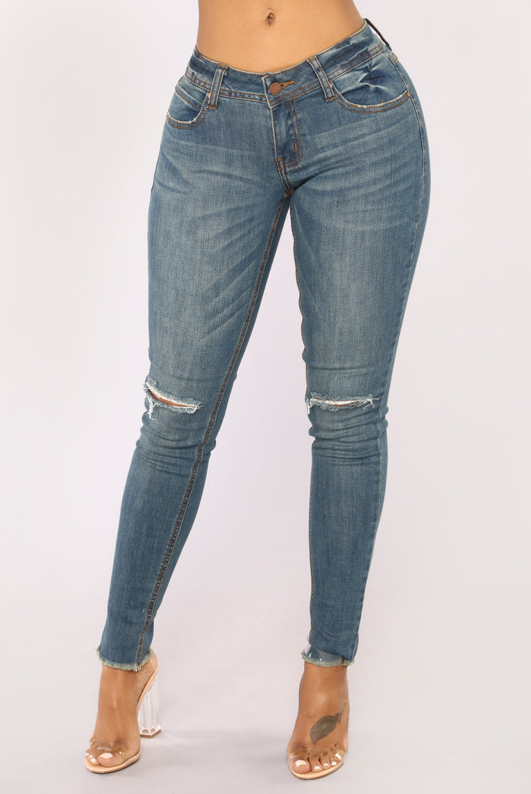 Vintage Dream Skinny Jean - Vintage Wash