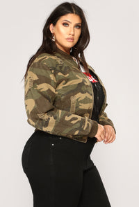 Camouflage In The City Jacket - Camo Angle 11