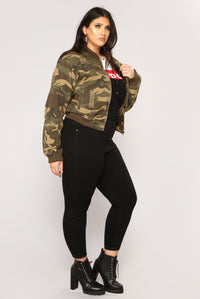 Camouflage In The City Jacket - Camo Angle 12