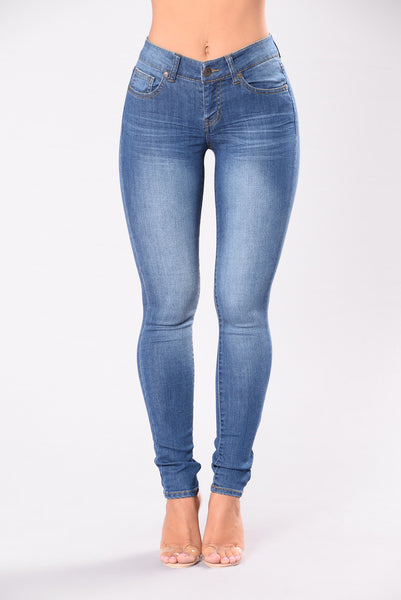 Tears Dry On Their Own Jeans - Medium Wash