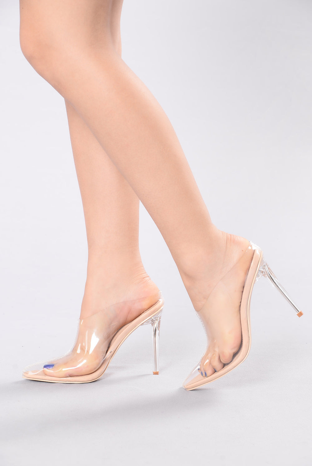 Clear Pointed Toe Shoes