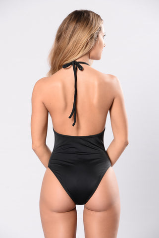 Wipe Out Swimsuit - Black