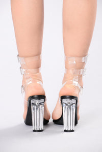 Wish Come True Heel - Black/Clear