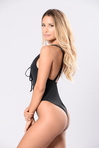 Deeper Water Swimsuit - Black