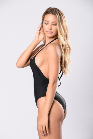 Yacht Drifter Swimsuit - Black