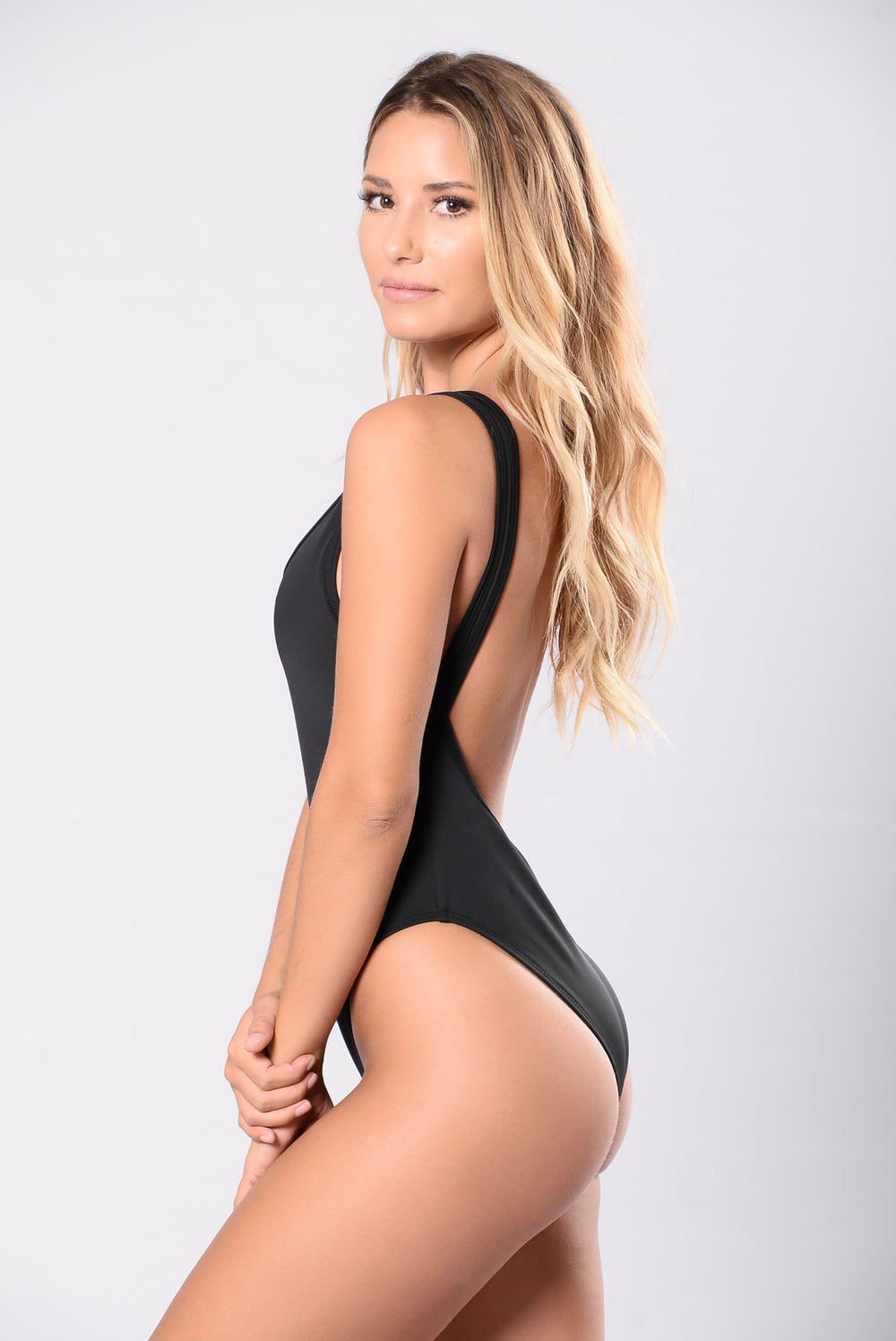 Summer Girls Swimsuit - Black