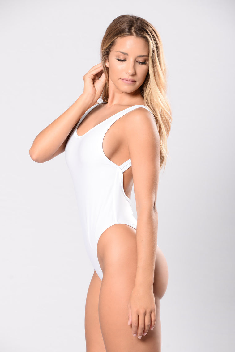 Summer Girls Swimsuit - White