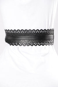 Sweetie Pie Belt - Black