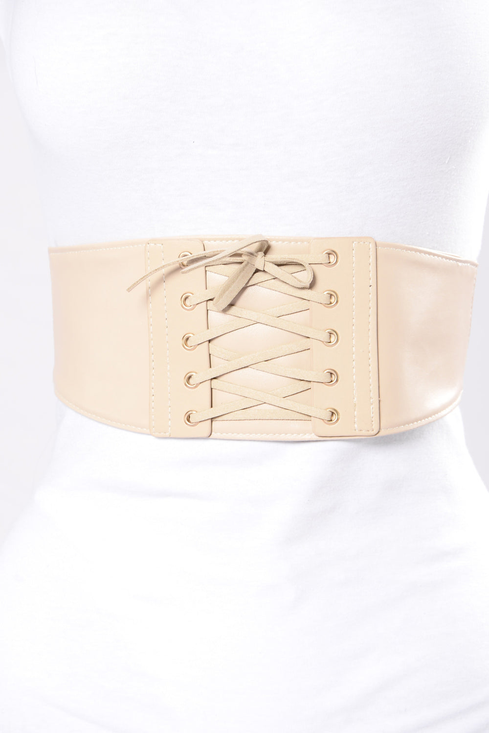 Leave You Forever Belt - Nude