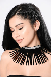 Try You Out Choker - Black