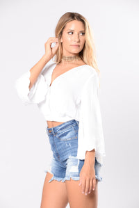 Movie Shoot Top - Ivory