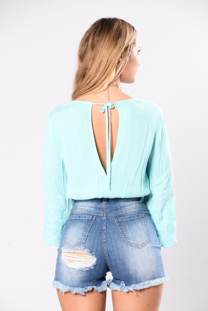 Movie Shoot Top - Seafoam