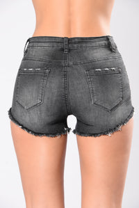 Step Up Shorts - Black Angle 3