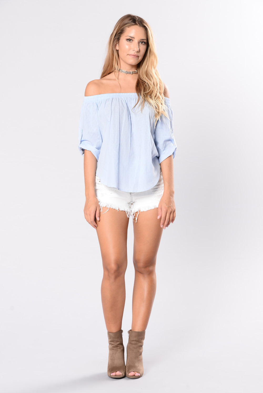 It's Sweet Shorts - Light Blue