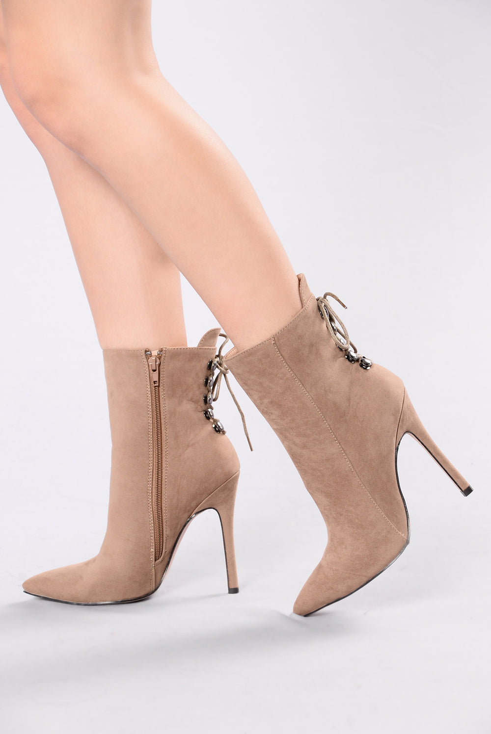 Dancing All Night Boot - Taupe