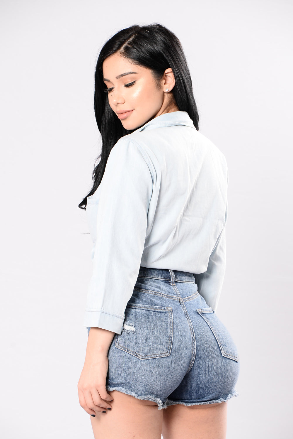 Benedict Top - Light Denim