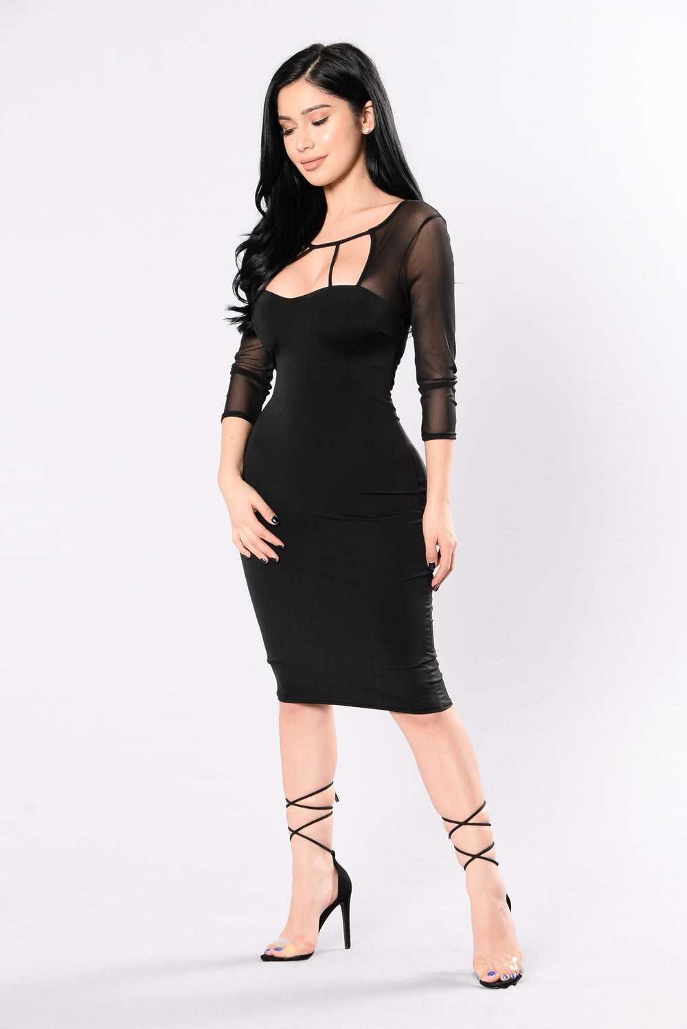 Bad Intentions Dress - Black