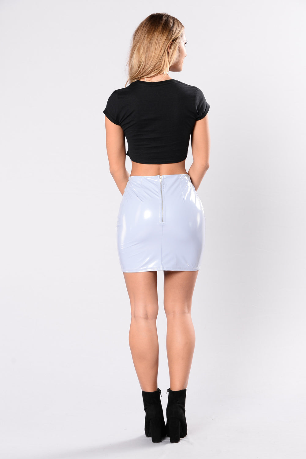 Only For The Daring Skirt - Light Grey