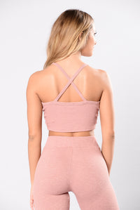 So Undercover Top - Mauve