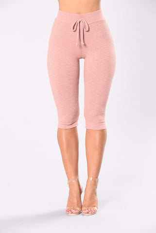 So Undercover Leggings - Mauve