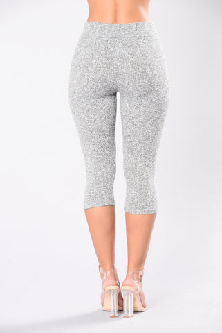 So Undercover Legging - Heather Grey