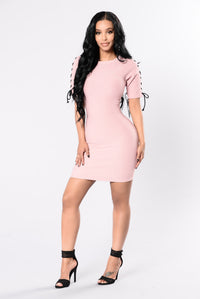 Can You Not? Dress - Blush