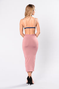 Olive Oil Skirt - Mauve