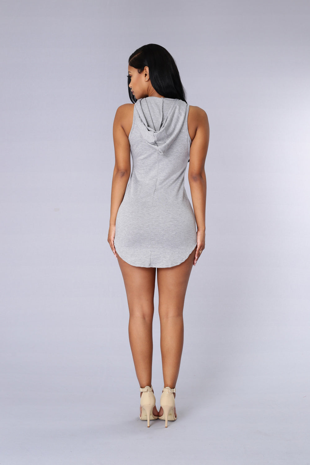 Rascal Dress - Heather Grey