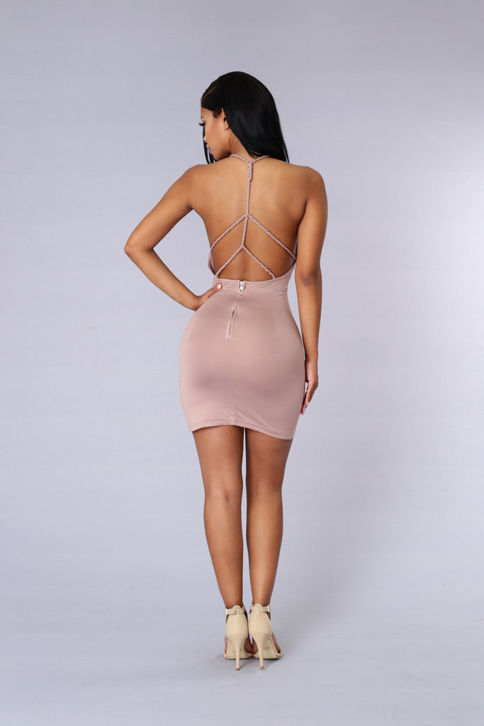 Brayden Dress - Beige