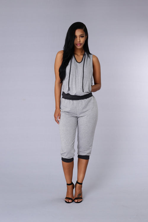 Rogue Crop Pant - Grey/Charcoal