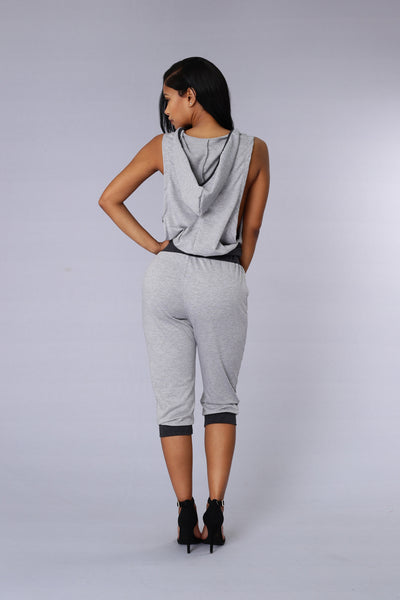 Rogue Top - Grey/Charcoal