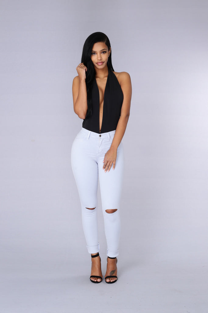 Dip Out Bodysuit - Black