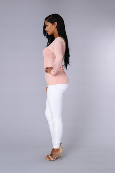 Serendipity Top - Blush